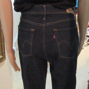 Levi 512 Dark Blue Jeans 10 Perfectly slimming